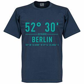 Hertha Berlin Home Coordinate Tee - Denim Blue