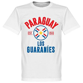 Paraguay Established Tee - White