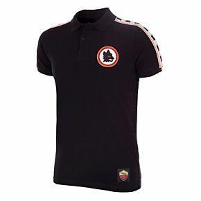 Copa AS Roma Polo Shirt - Black
