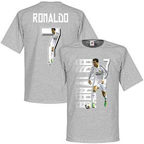 Ronaldo 7 Gallery Tee - Grey