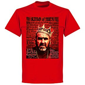 Cantona Old Skool T-shirt - Red
