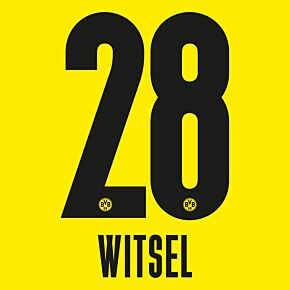 Witsel 28 - 20-21 Borussia Dortmund Home (Official Printing)
