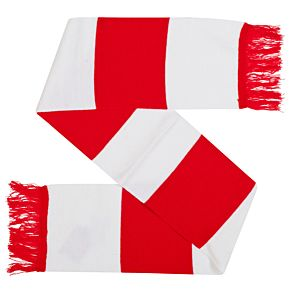 Retake Team Scarf - Red/White