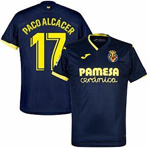 20-21 Villarreal Away Shirt + Paco Alcácer 17 (Fan Style)