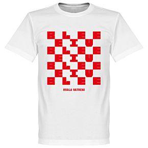 Croatia Homecoming Tee - White