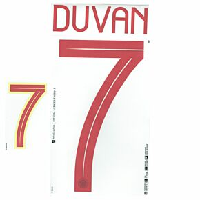 Duvan 7 (Official Printing) - 21-22 Colombia Home