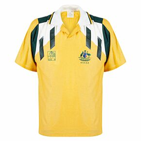 Austral Australian Secondary Schools Soccer Association 1992 UK Tour Shirt - USED Condition (Great) - Size S