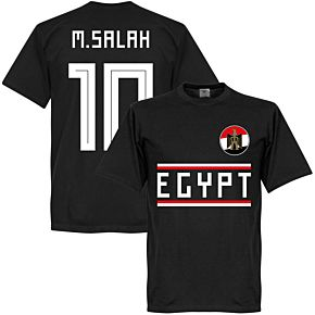 Egypt M. Salah 10 Team Tee - Black