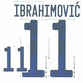 Ibrahimović 11 (Official Printing) - 21-22 Sweden Home