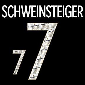 Schweinsteiger 7 (Danke Basti Printing) - 20-21 Germany Away