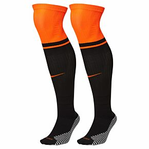 20-21 Holland Away Socks - Black/Orange