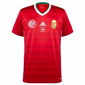 20-21 Hungary Home Shirt + v France Transfer