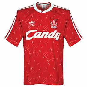 adidas Liverpool FC 1989-1991 Home Shirt - Used Condition (Great) - Size S *READY TO PUBLISH*