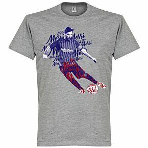 Messi Script KIDS T-Shirt - Grey