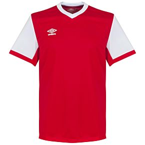 Umbro Witton Team Jersey - Red/White