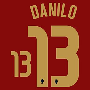 Danilo 13 (Official Printing) - 20-21 Portugal Home