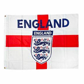 England Large Crest Flag (90cm x 120cm)
