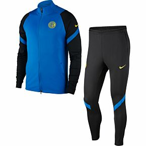 20-21 Inter Milan Strike Tracksuit - Royal/Black