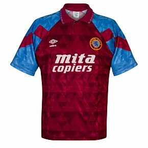 Umbro Aston Villa 1990-1992 Home Shirt - USED Condition (Good) - Size L **READY TO PUBLISH*