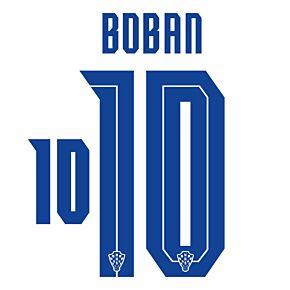 Boban 10 (Official Printing) - 20-21 Croatia Home