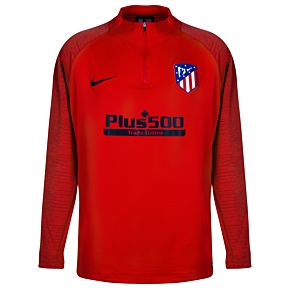 Nike Atletico Madrid Strike Dry L/S Drill Top - Red 2019-2020