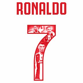Ronaldo 7 (Gallery Style) 19-20 Juve Away