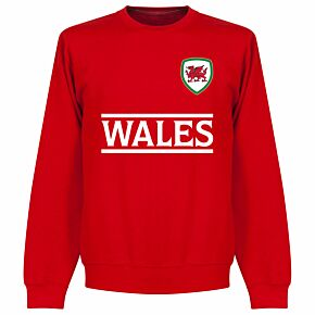 Wales Team KIDS Sweatshirt - Red