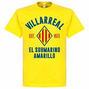 Villarreal Established Tee - Yellow