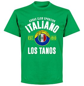 Audax Italiano EstablishedT-Shirt - Green