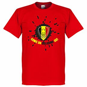 Belgium Devil KIDS Tee - Red