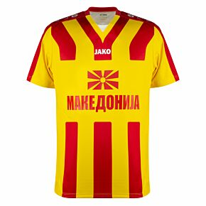 Jako Macedonia Shirt - Yellow/Red