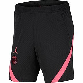 2021 PSG Strike Shorts - Black/Pink