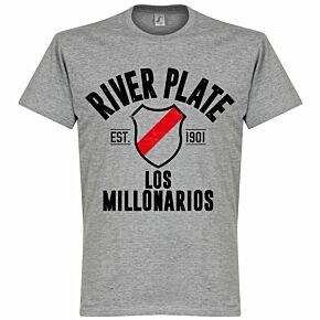 River Plate Established Tee - Grey