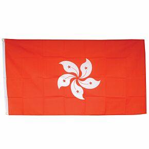 Hong Kong Large Flag3ft x 5ft