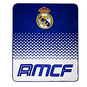 Real Madrid Fade Fleece Blanket (120cm x 150cm)