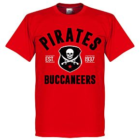 Pirates Established Tee - Red