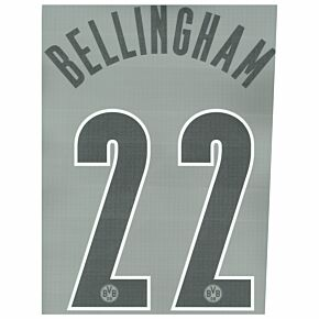 Bellingham 22 (Official Printing) - 21-22 Borussia Dortmund 3rd