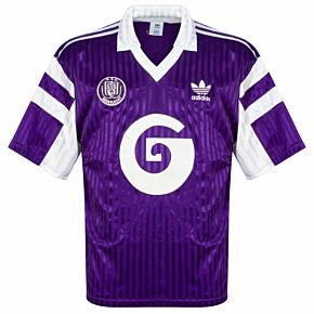 adidas Anderlecht 1990-1992 Away Shirt - USED Condition (Good) - Size L