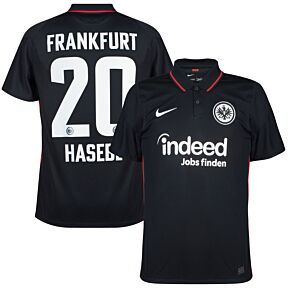 21-22 Eintracht Frankfurt Home Shirt + Hasebe 20 (Official Printing)