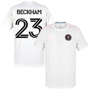 20-21 Inter Miami Home Shirt + Beckham 23 (Fan Style)
