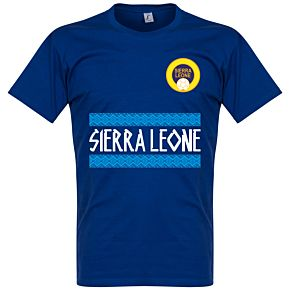Sierra Leone Team Tee - Blue