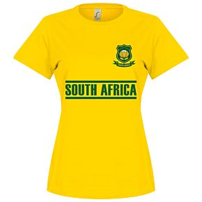 South Africa Team Womens Tee - Yellow