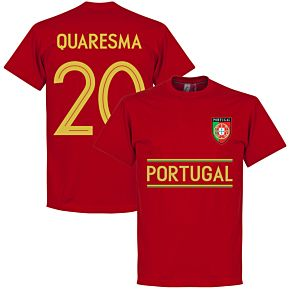 Portugal Quaresma 20 Team Tee - Red