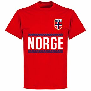 Norway Team Tee - Red