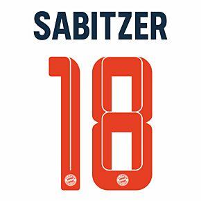 Sabitzer 18 (Official Printing) - 21-22 Bayern Munich 3rd