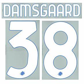 Damsgaard 38 (Official Printing) - 21-22 Sampdoria Home