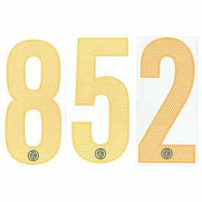 04-06 Inter Milan 3rd Official Numbers - Yellow