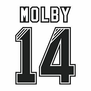Molby 14 (Retro Flock Printing) 95-96 Liverpool Away