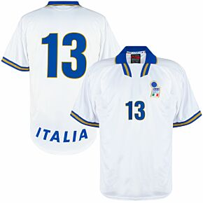 Nike Italy 1996-1998 Away Shirt - NEW (In Bag w/tags) - Player Issue No.13 (Rossitto) - Size XL