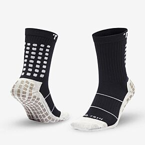 Trusox Mid-Calf Thin 2.0 Professional Socks - Black/White